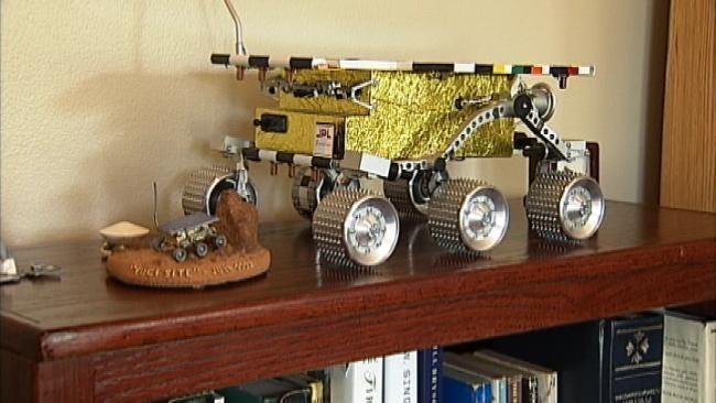 Tulsan Pioneers Mars Rover Program