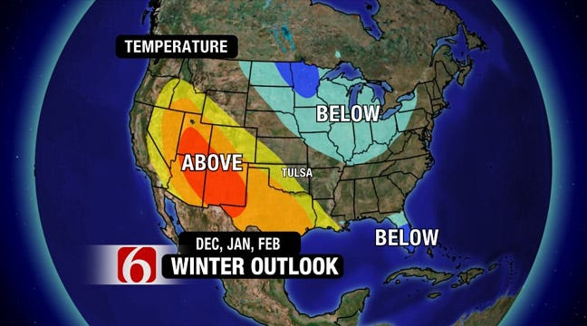 Winter Forecast Shows Colder Temperatures, More Snow Than Last Year
