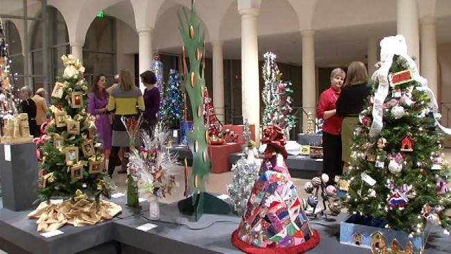 Philbrook Museum Of Art Festival Of Trees Features Million Dollar Tree