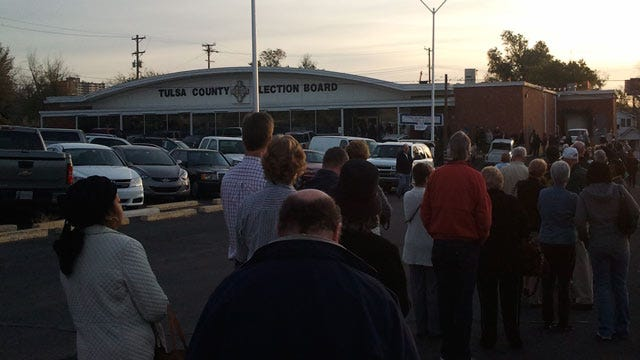 Early Voting For The General Election Underway In Oklahoma