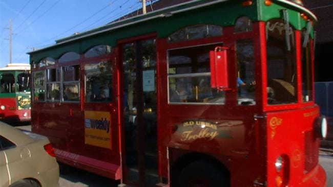 See Downtown On New Free Trolley Service