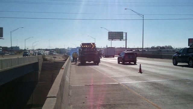 ODOT Repairs Expansion Joint On Tulsa Highway Bridge
