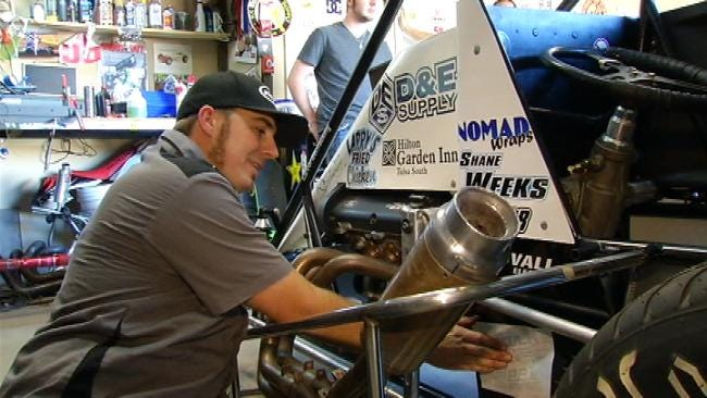 Wagoner Teen Cancer Patient Surprised With New Race Car