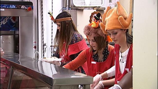 Tulsa Salvation Army Serves Up Turkey Dinners To The Needy