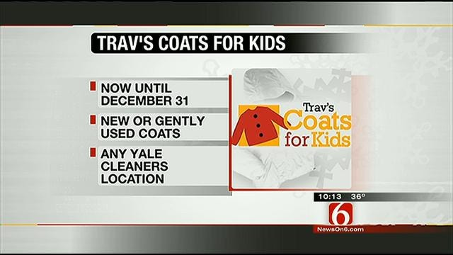 Donate To Trav's Coats For Kids At Any Yale Cleaners