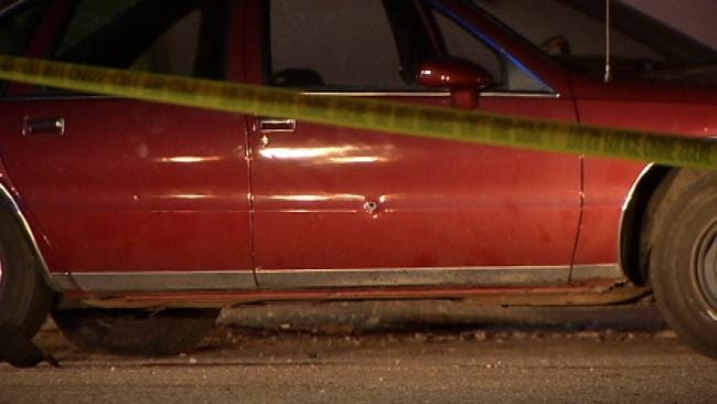 Bullet Hits Man Sitting In Car Outside Haze Club in Tulsa