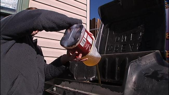 Oklahomans Urged To Recycle, Prevent Grease Build-Up In City Pipes