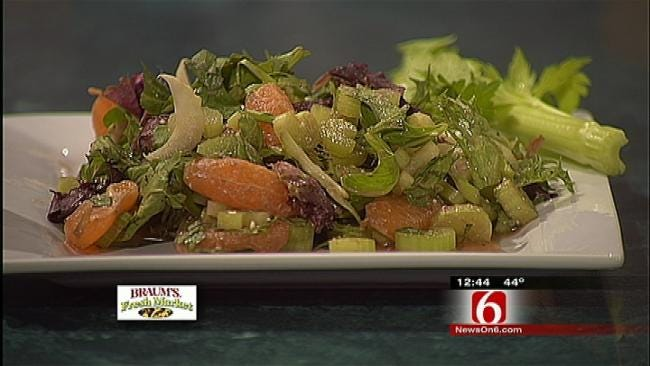 Celery Citrus Salad