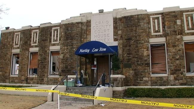 Piece Of Vinita History Lost As Downtown Building Burns