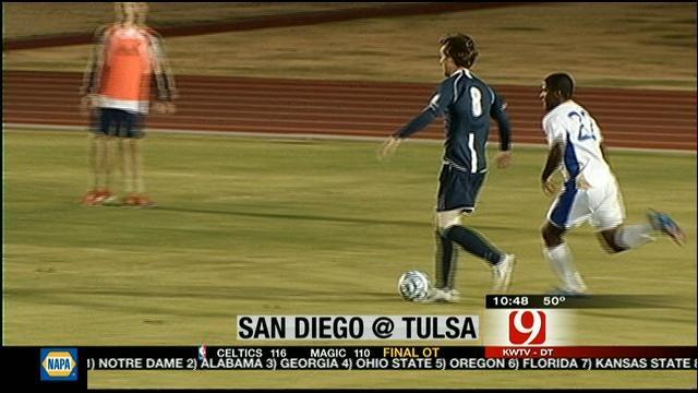 Tulsa Men's Soccer Falls In Sweet 16