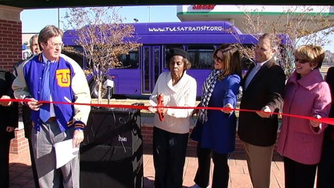 New Bus Shelter Opens In North Tulsa