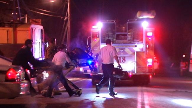 Driver Found Shot In Head, Rushed To Tulsa Hospital