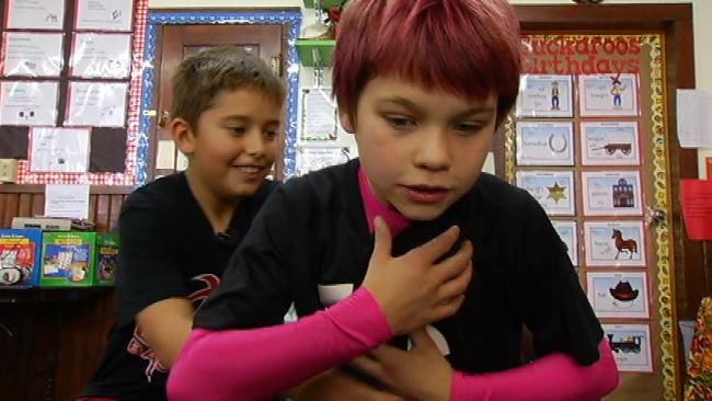 Cherokee County Fourth-Grader Saves Friend From Choking
