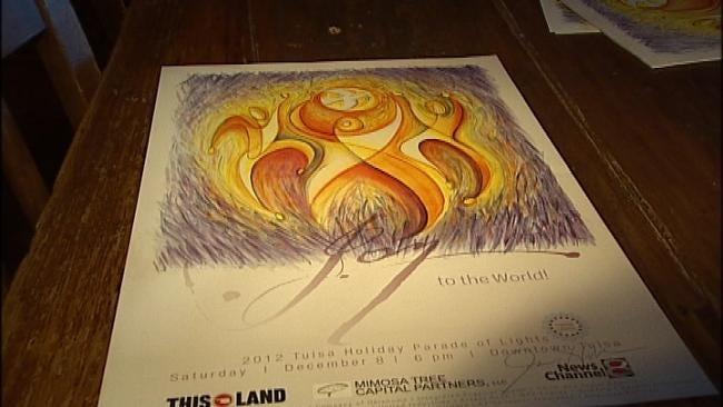 Organizers Unveil 2012 Tulsa Holiday Parade Of Lights Poster
