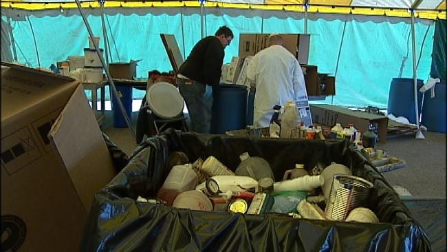 Fairgrounds Pollutant Collection Event Continues Sunday