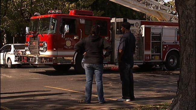 For Second Time In 2 Days Tulsa Fire Responds To Fire At Same Apartment