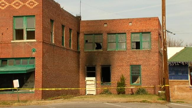 Historical Salina Building Survives Close Call With Fire