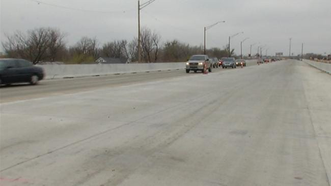 ODOT: Construction On I-244 May Look Complete, But Use Caution