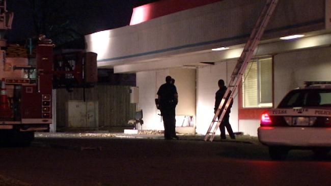 Tulsa Police: Alarm Scares Off Restaurant Burglar