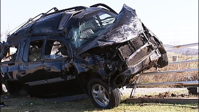 Man Killed In Rollover Wreck Near Claremore Sunday
