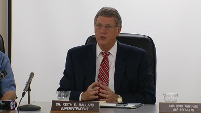 TPS Superintendent Ballard To Stay On Another Year