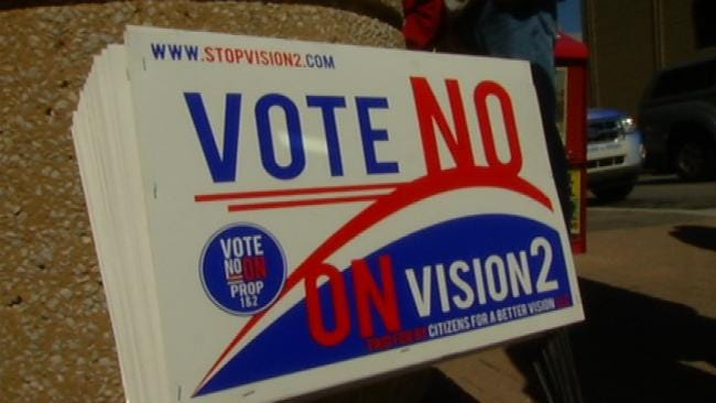 Both Vision2 Sales Tax Propositions Fail With Tulsa County Voters
