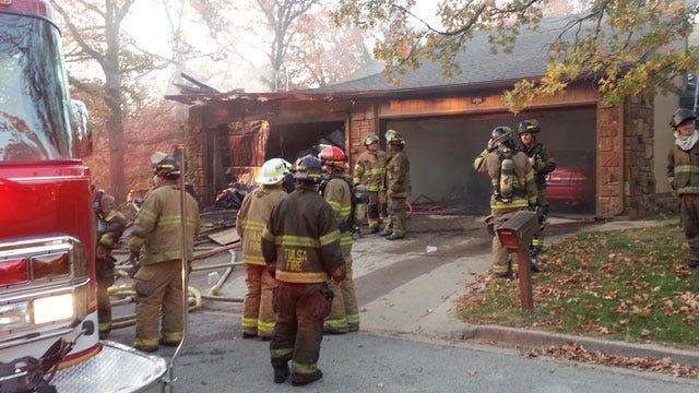 Elderly Woman Killed In Tulsa Duplex Fire