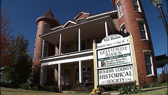 Historical Belvidere Mansion In Claremore Offers Beautiful View