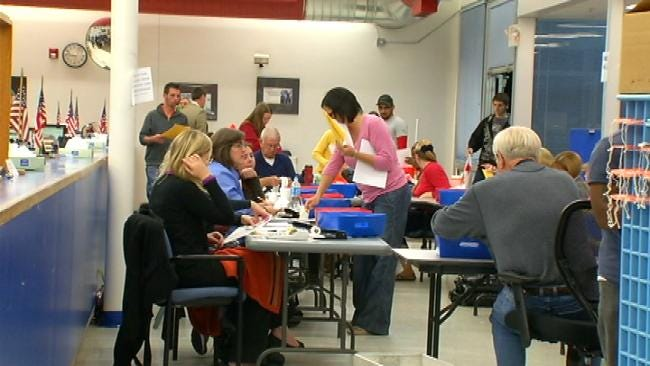 Huge Voter Turnout Caused Delays In Counting Tulsa County Ballots
