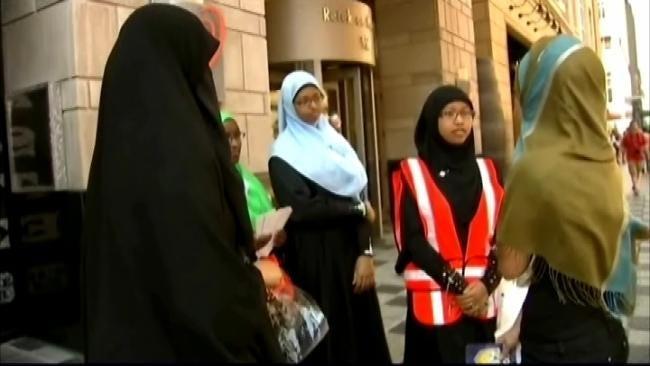 Muslim Woman Challenges No Hat, No Hood Policy At Tulsa Bank