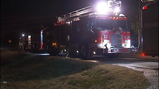 Tulsa Home Destroyed By Fire Tuesday Evening