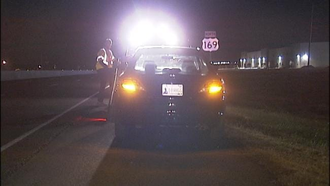 Driver Not Hurt When Car Hits Deer On North Tulsa Highway