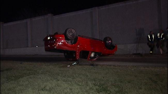Tulsa Police: Driver Nowhere To Be Found After Crash