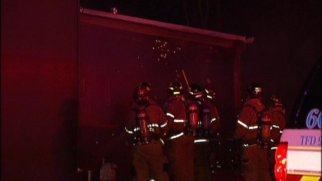 Investigators Look For Cause Of Fire Outside Tulsa Hair Salon