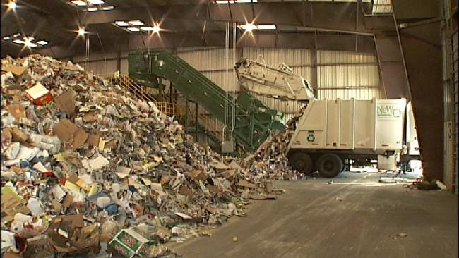New Recycling Machine Changes The Way Tulsa Disposes Of Its Waste