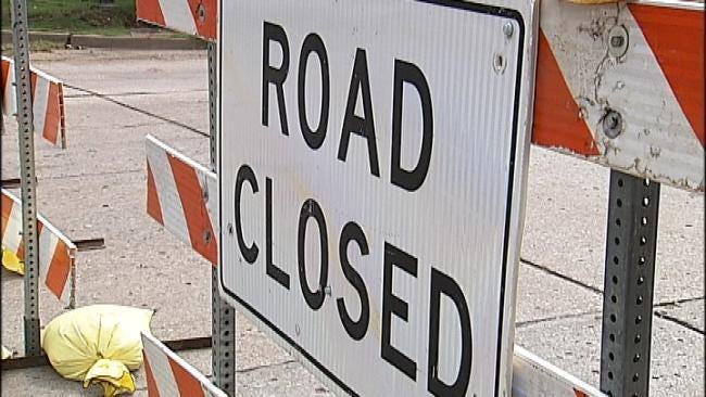 More Construction Lane Closures On I-44 In Tulsa At Lewis