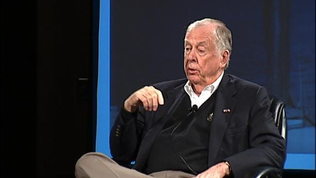 T. Boone Pickens Weighs In On Energy Production At Conference In Bartlesville