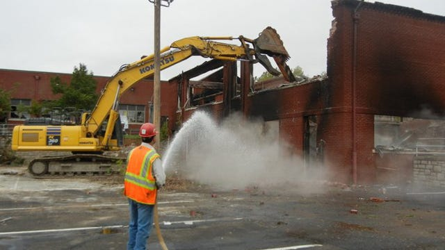 TPS Breaks Ground On New Building, Begins Demolition On Another