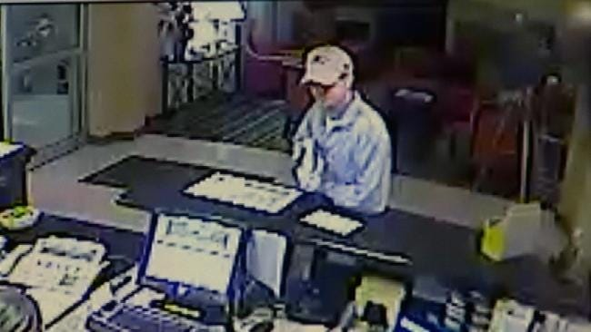 Tulsa Police Release Surveillance Video In Hotel Robbery