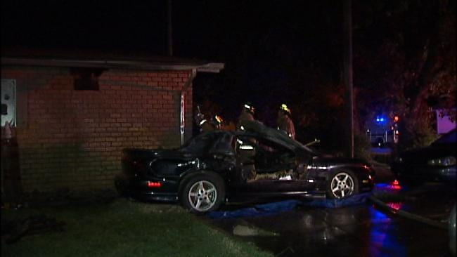 Meth Lab Discovered After Tulsa Man Sets Sister's Car On Fire