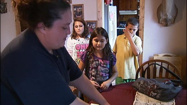 Sapulpa Mom One Of Thousands Who Rely On Food Bank To Feed Family