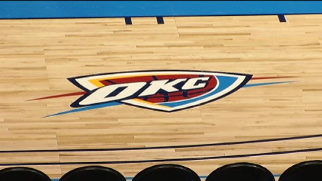 OKC Thunder Makes Stop In Bixby For Blue-White Scrimmage