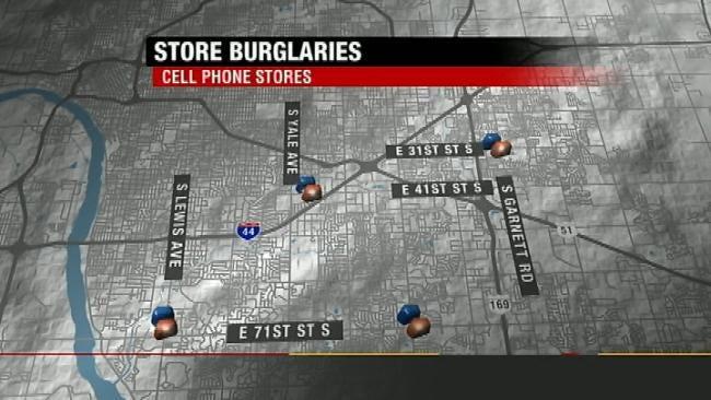 Tulsa Police Need Help Identifying Cell Phone Burglars