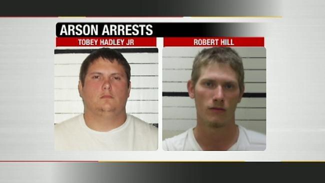Two Former Warner Volunteer Firefighters Arrested For Arson