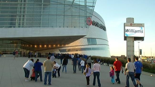 Green Country Thunder Fans Pack Out Tulsa BOK Center