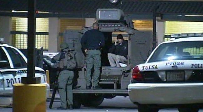 Tulsa Murder Suspect Dead Of Self-Inflicted Gunshot Wound After Standoff