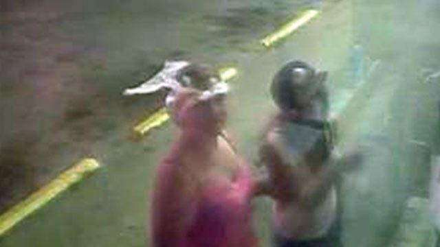Surveillance Photos Show Women Attempting Tulsa Break-In