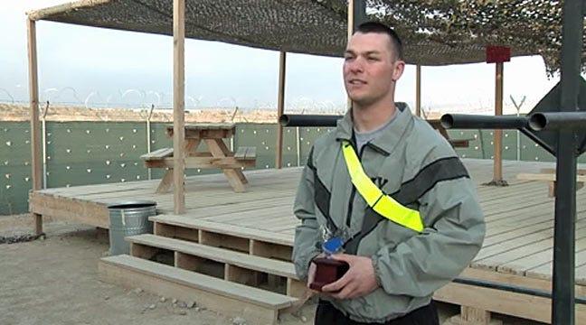 Tulsa Soldier Earns Iron Dragon Trophy