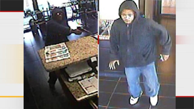 Two Men Who Robbed Tulsa Motel Caught On Tape