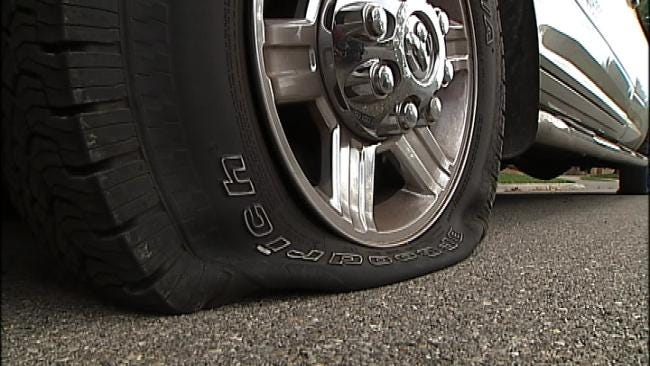 Police: Vandals Slash Car Tires In Midtown Tulsa Neighborhood